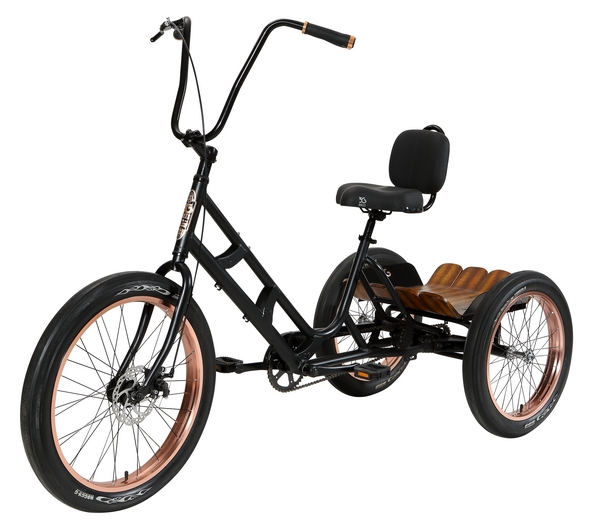 Asbury DLX - Alloy Frame - 1 Speed Tricycle
