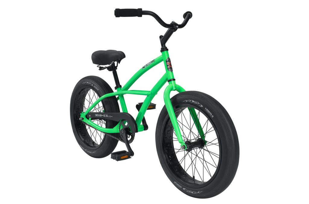 Boys 20 Inch Axel BBW 1 Speed Beach Cruiser Bicycle