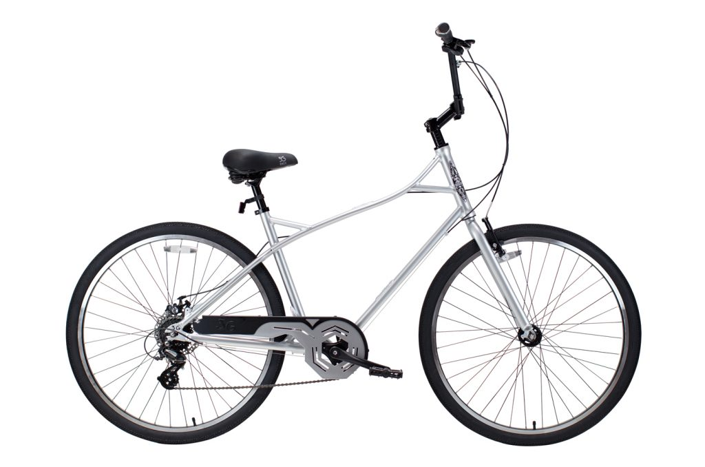 Mens Large Broadway 8 Speed City Commuter Bicycle