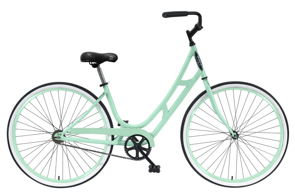 Ladies G'Bonita - Steel Frame - 1 Speed City Bike