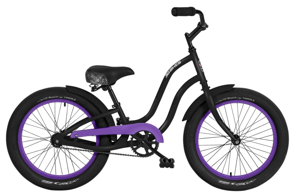 Girls 20 Inch Gigi 1 Speed Beach Cruiser Bicycle