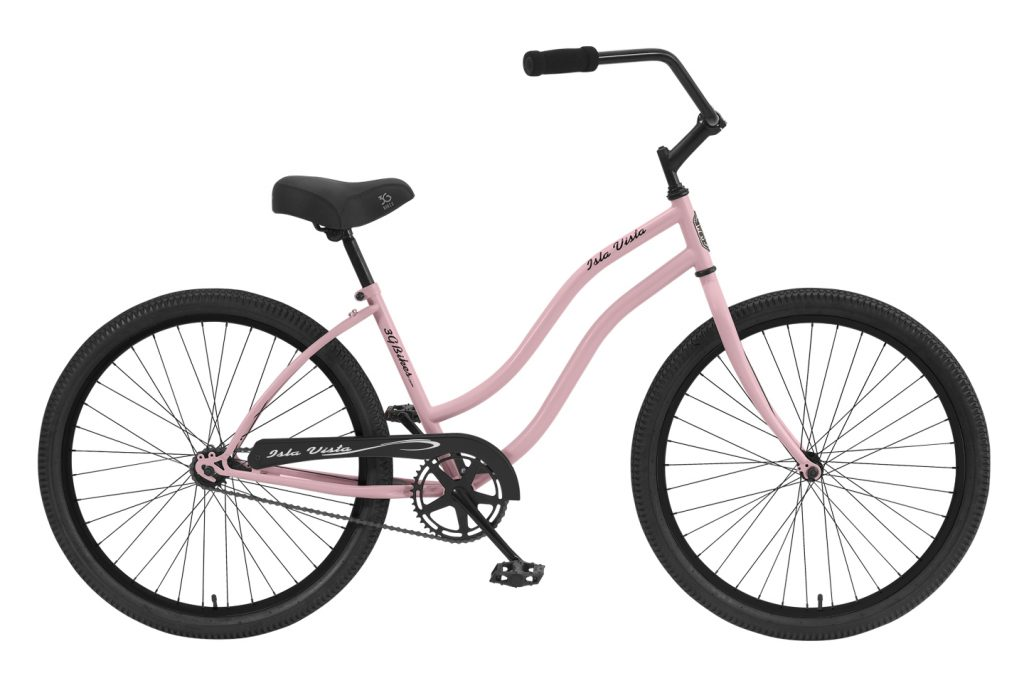 Ladies Isla Vista - Steel Frame - 1 Speed Cruiser
