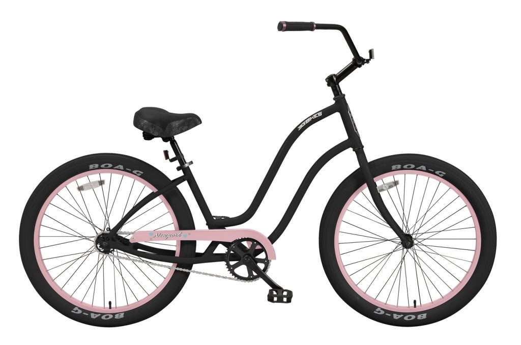 Ladies' Newport - Alloy Frame - 1 Speed Cruiser - Black Components