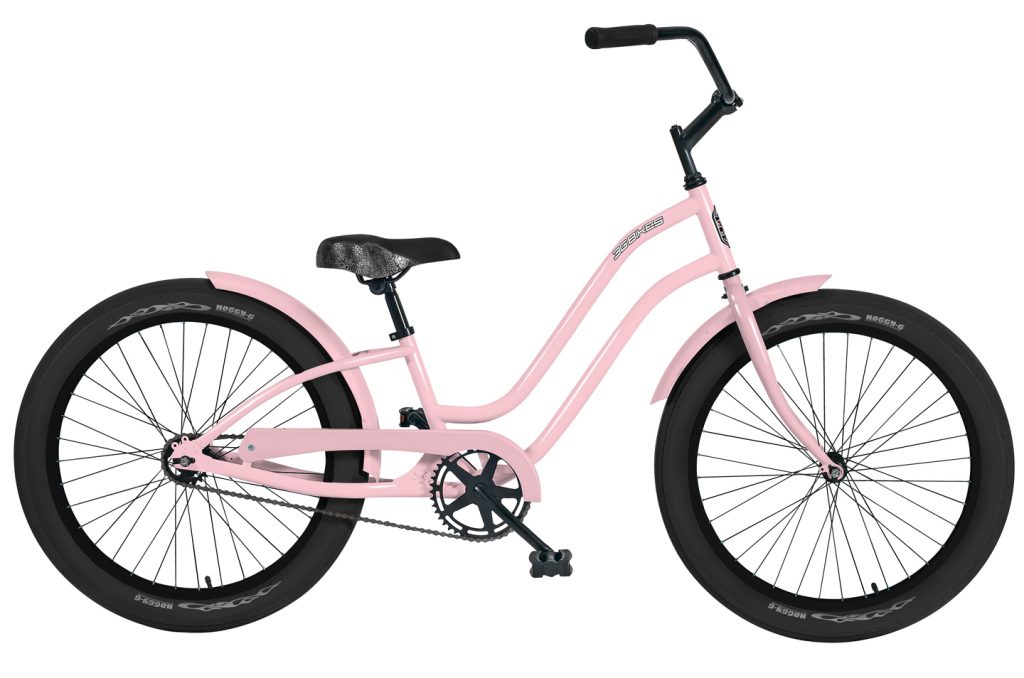 Girls 24 Inch Roxie 1 Speed Beach Cruiser Bicycle