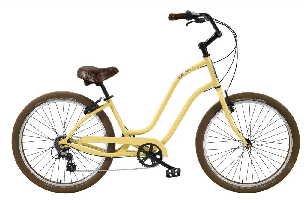 Ladies Venice - Steel Frame - 7 Speed Cruiser - Brown Components