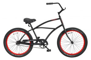 24 Inch Puck 1 Speed Beach Cruiser Bicycle